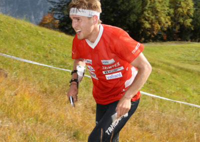 Florian Schneider (SUI, Stettlen BE, 7th) - Long Distance Men at the EGK Orienteering World Cup Final 2017 in Grindelwald / Switzerland