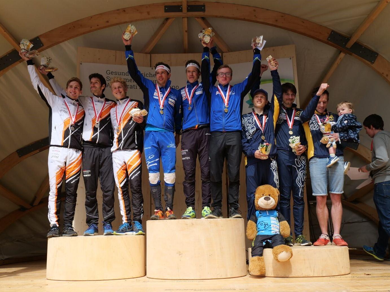 Podium Schweizer Staffelmeisterschaften