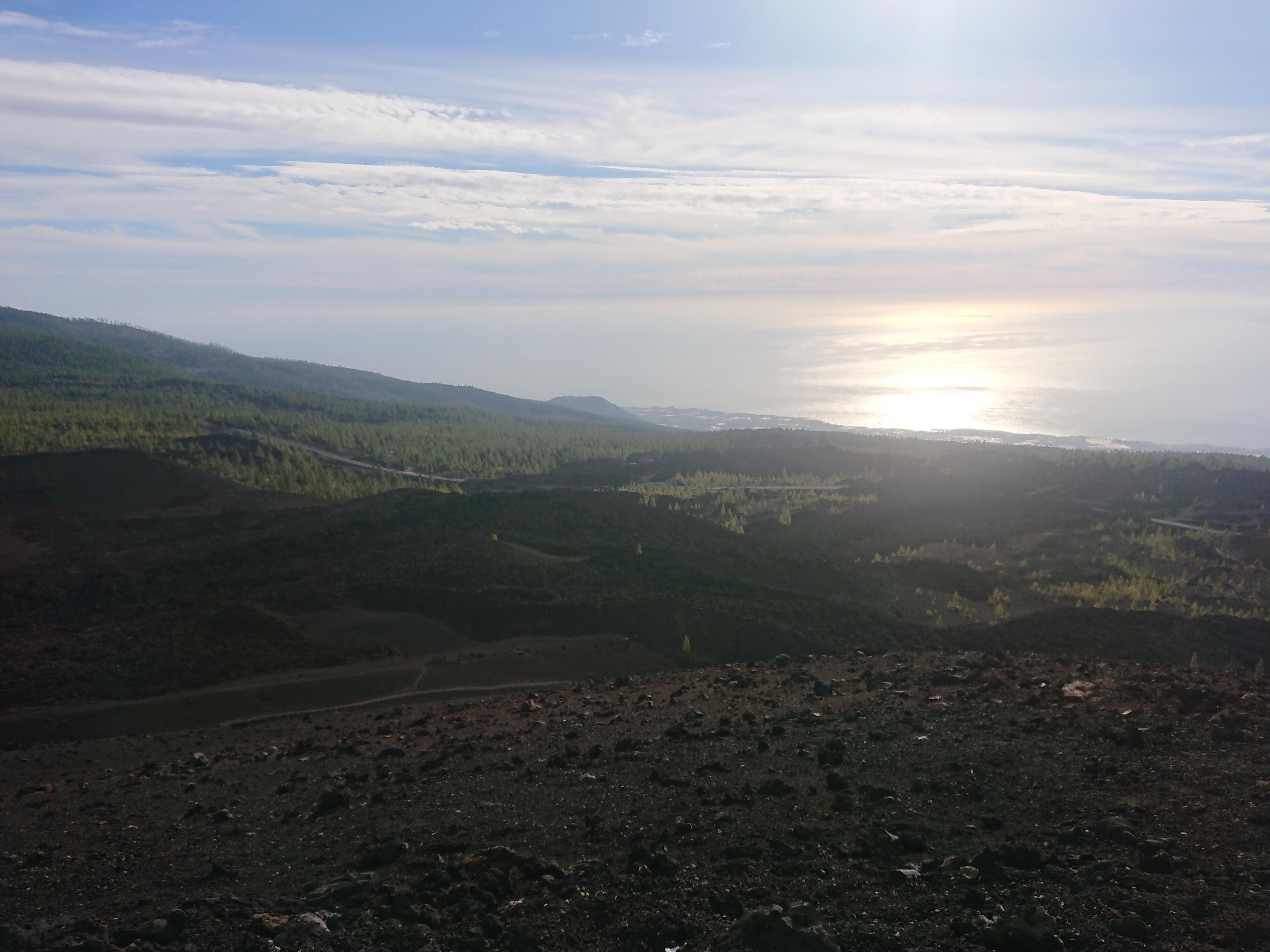 Fantastische Aussicht bis zum Horizont
