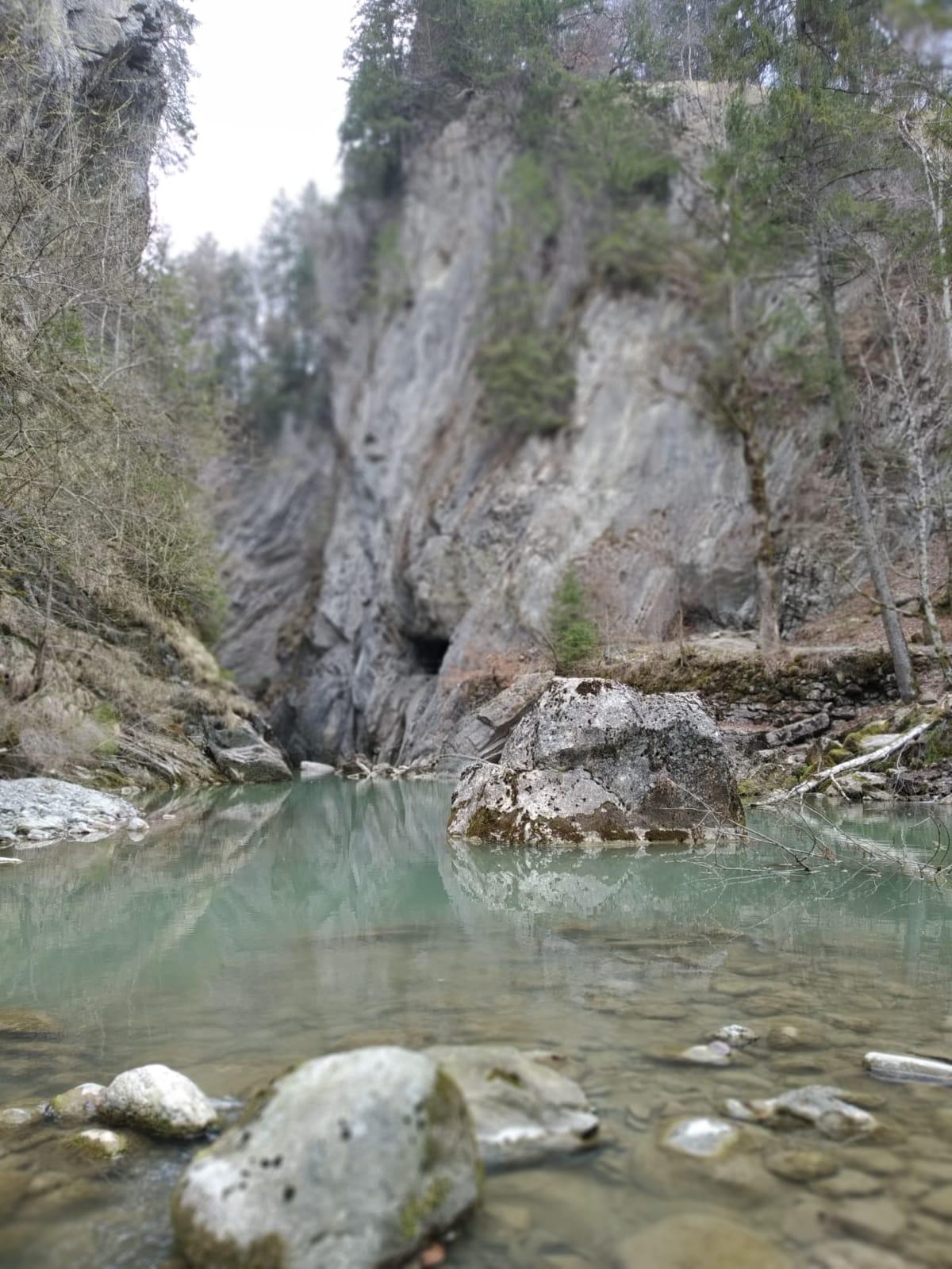 ... beim Ruhen und erkunden der Natur