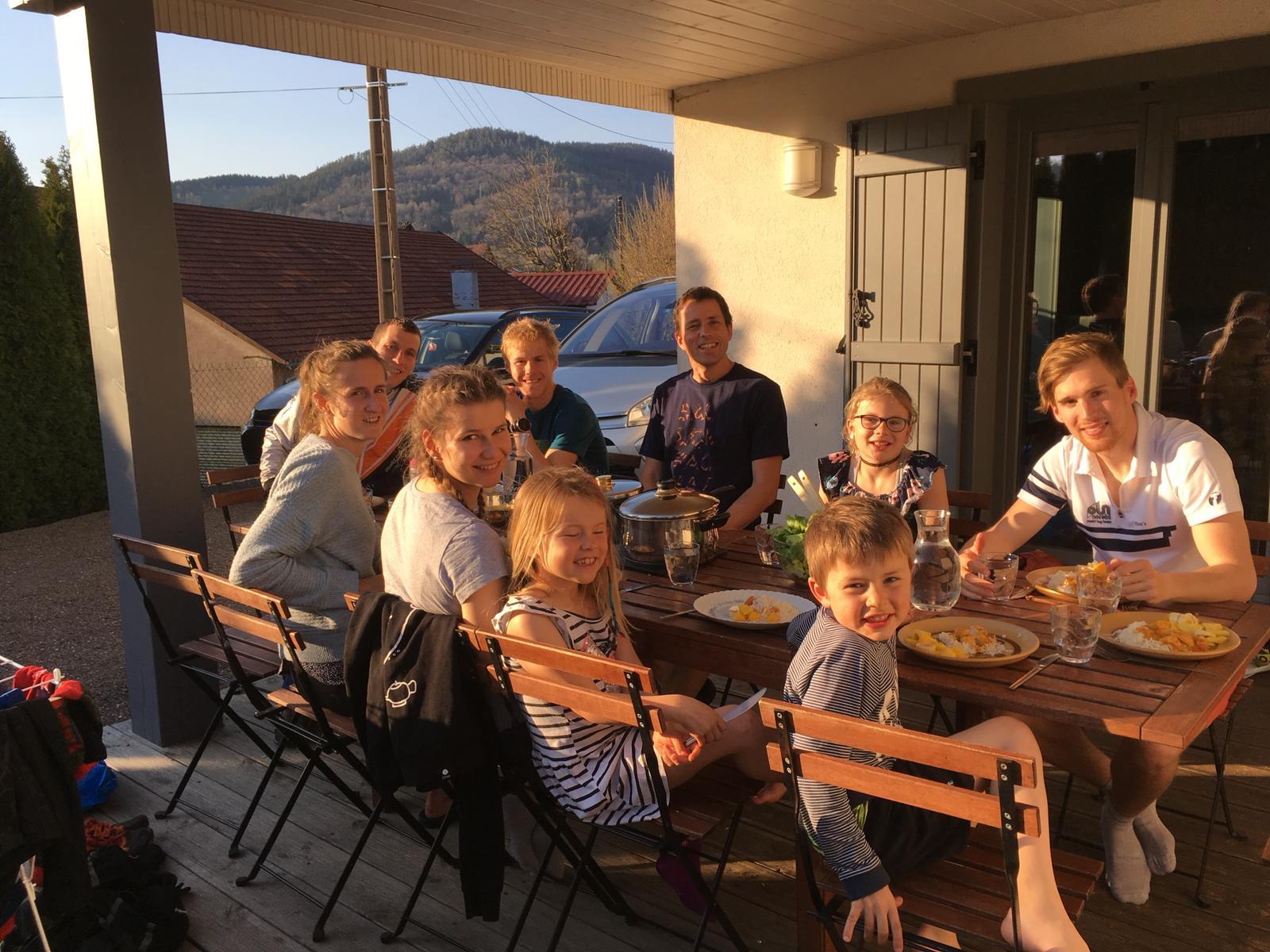 """Familienfest"" am 3-Tage OL über Ostern mit dem Klub"